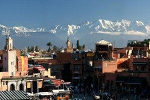 Panorama di Marrakesh