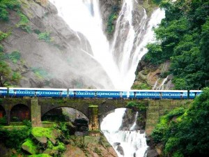 La Dudhsagar Waterfall